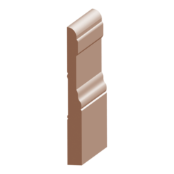 118P-5, 9/16x5-1/4, Poplar Colonial Base