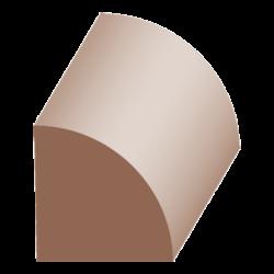 504MP, 3/4x3/4, Maple Quarter Round