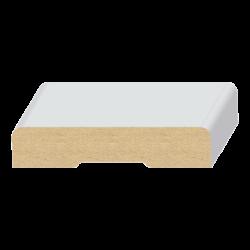 122MUL-SC, 9/16 x 2-1/4, scant 2 round edge casing