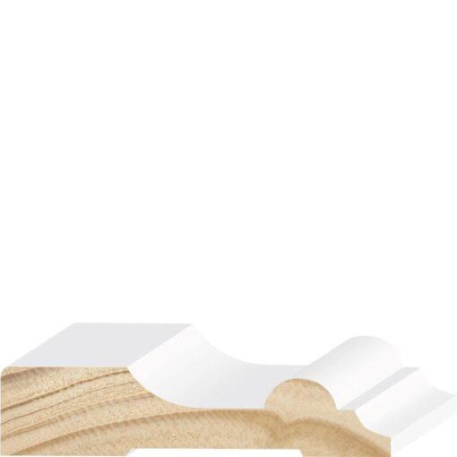 P854PPR, 1x4-1/4, Primed Pine Single Bead Casing