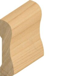 P442, 5/8x1-5/8, Solid Pine Combo Base